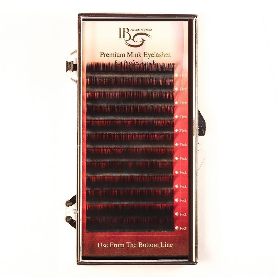 Ресницы черные i-Beauty отд. длины, 20 линий