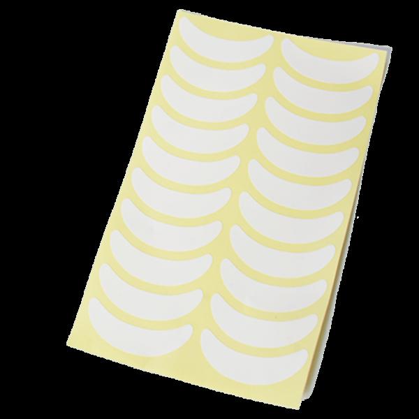 Виниловые наклейки для наращивания ресниц (1 лист - 10 пар).