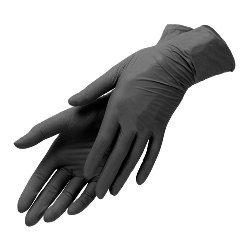 Перчатки нитриловые химически устойчивые