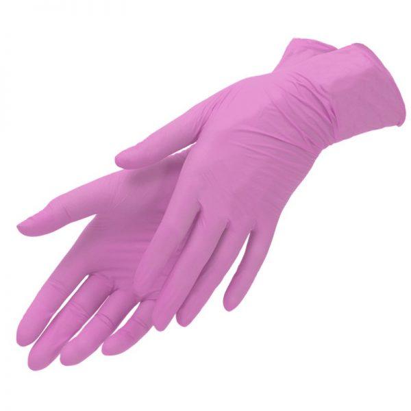 Перчатки нитриловые высокоэластичные
